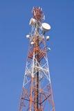 башня радиосвязи Стоковая Фотография