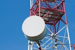 башня радиосвязи стоковое изображение