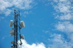башня радиосвязи Стоковое Фото