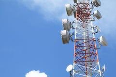 Башня радиосвязей - серия 3 Стоковая Фотография RF