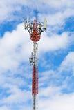 Башня радиосвязей с антеннами Стоковое Фото