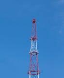 Башня радиосвязей. Стоковая Фотография RF