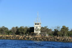 Башня радиосвязи пути моря Стоковая Фотография RF