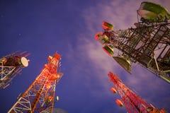 Башня радиосвязи Стоковая Фотография RF