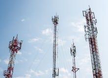 Башня радиосвязи стоковые фото