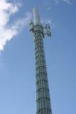 башня реле сотового телефона Стоковое Изображение