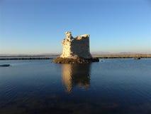 башня руины Стоковые Фотографии RF