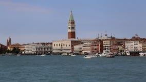 Башня Сан Marco в Венеции, Италии стоковые фото