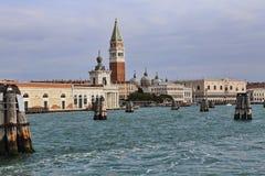 Башня Сан Marco в Венеции, Италии стоковые изображения