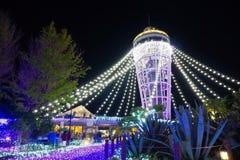 Башня свечи Стоковое Изображение
