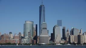 Башня свободы и более низкое Манхаттан Nyc Стоковая Фотография RF