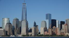 Башня свободы Нью-Йорка Стоковые Изображения