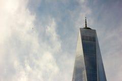 Башня свободы Нью-Йорка стоковые фотографии rf
