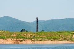 Башня связей на береге Стоковая Фотография