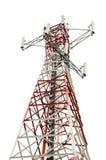 Башня связей на белой предпосылке Стоковые Фотографии RF