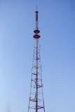 Башня связей против неба Стоковое Фото