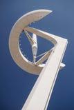 Башня связей Calatrava в Барселоне - 04/13/2014 Стоковое Изображение RF