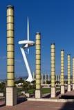 башня связей montjuic Стоковые Фотографии RF