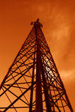 башня связи Стоковые Фотографии RF