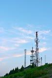 башня связи Стоковая Фотография