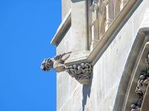 башня святой jacques paris детали Стоковое фото RF
