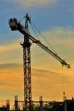 башня серии крана III Стоковое Изображение