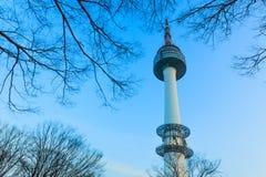 Башня Сеула самая лучшая башня в Азии Стоковая Фотография