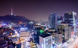 Башня Сеул стоковое изображение rf