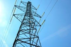 Башня силы электричества Стоковые Фото