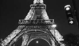 башня силы eiffel paris Стоковая Фотография RF