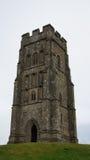 Башня скалистой вершины Glastonbury Стоковые Изображения