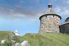 башня скита korozhnaya solovetsky Стоковая Фотография