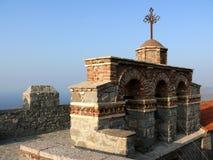 башня скита lesvos Греции колокола правоверная Стоковое Изображение
