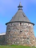 Башня скита Solovetsky Стоковое фото RF