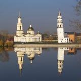 Башня склонности Nevyansk Стоковое Изображение