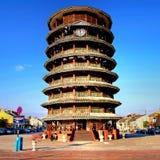 Башня склонности Teluk Intan в HDR Стоковое Изображение