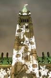 Башня снежинки стоковые фото