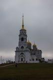 башня собора 3 колоколов Стоковое Фото
