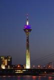башня средств dusseldorf стоковая фотография rf
