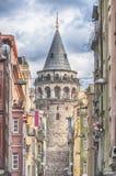 Башня Стамбула Galata Стоковое Изображение RF