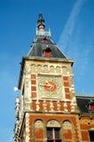 башня станции центральных часов Стоковая Фотография RF