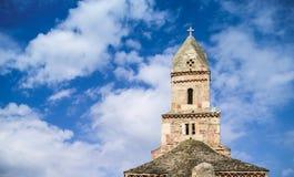 Башня старой церков Densus Стоковая Фотография