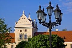 Башня стародедовских замка и фонарика Стоковые Фотографии RF
