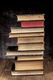 Башня старых книг Стоковые Изображения RF