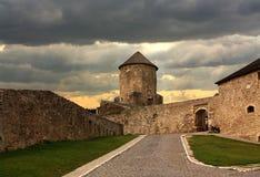 Башня стены и крепости цитадели старого бастиона Стоковые Изображения