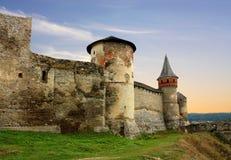 Башня стены и крепости цитадели старого бастиона Стоковое фото RF