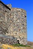 Башня стены и крепости цитадели старого бастиона Стоковая Фотография