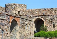 Башня стены и крепости цитадели Стоковые Фото