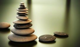 башня стога камушков камушка Стоковая Фотография RF