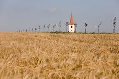 башня страны церков Стоковые Фото